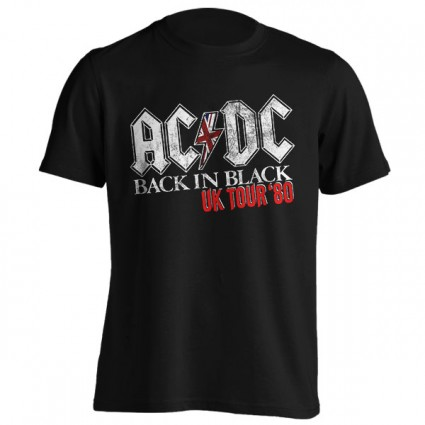 تیشرت ایسی/دیسی Back In Black UK Tour