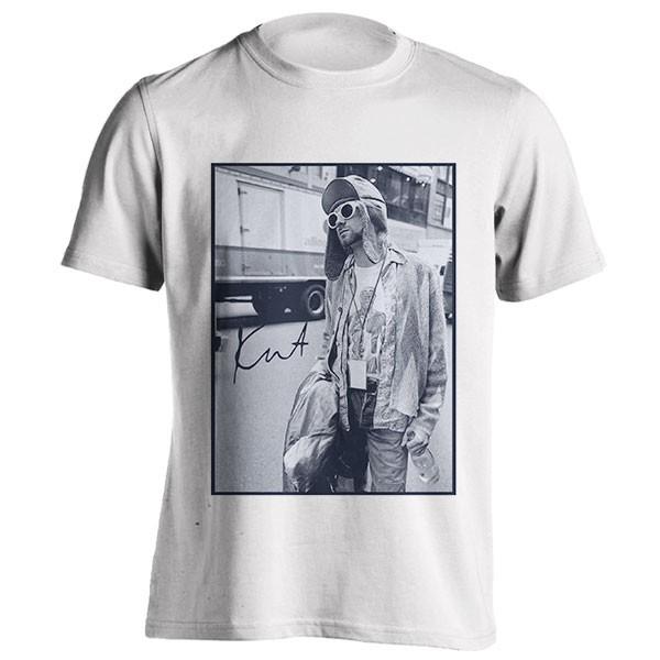 تیشرت نیروانا Cobain Tour Bus Nirvana