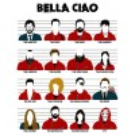 تیشرت Money Heist Bella ciao