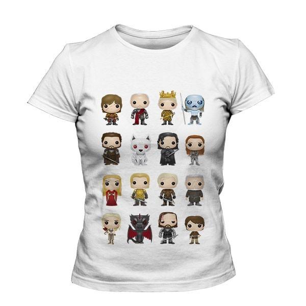 تیشرت دخترانه Game of Thrones Character Figurines