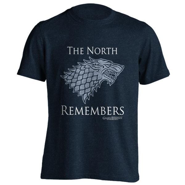 تیشرت ملانژ Game of Thrones House Stark Logo