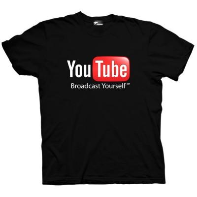 تیشرت یوتیوب طرح لوگو