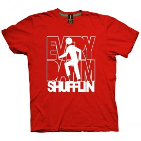 تیشرت Lmfao طرح Everyday I'm Shufflin