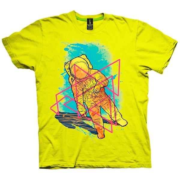 تی شرت گرافیکی طرح Spacebound