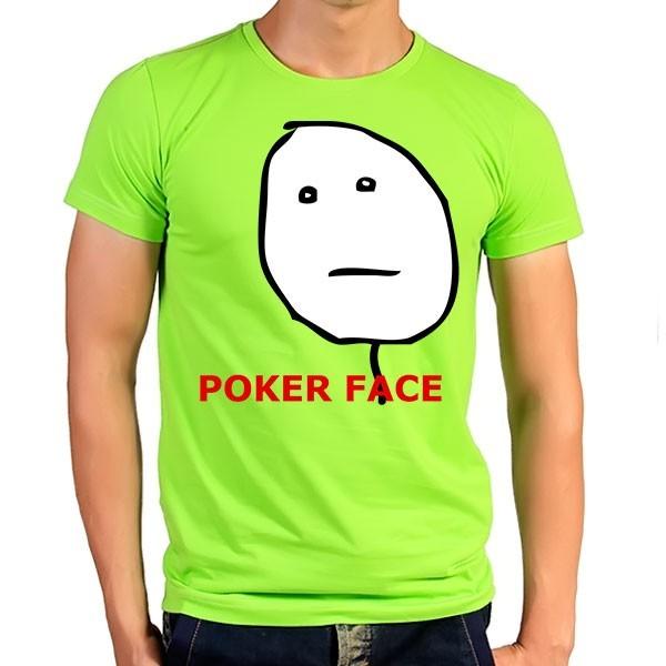 تی شرت ترول Poker Face