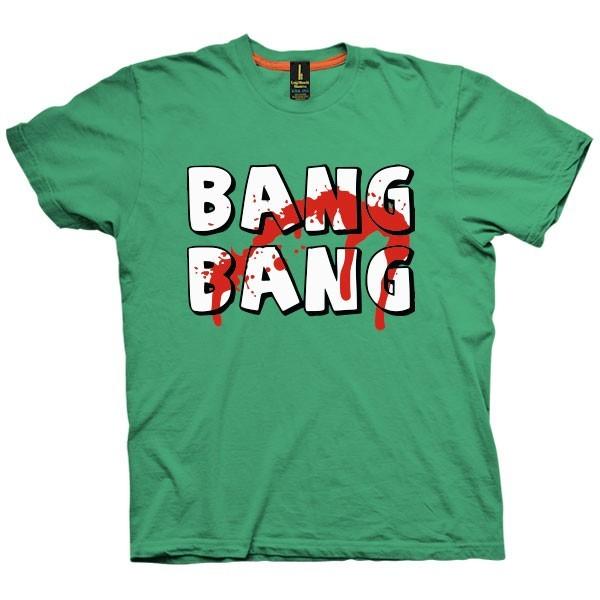 تی شرت گرافیکی طرح Bang Bang