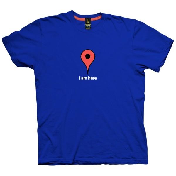 تی شرت Google Map Marker