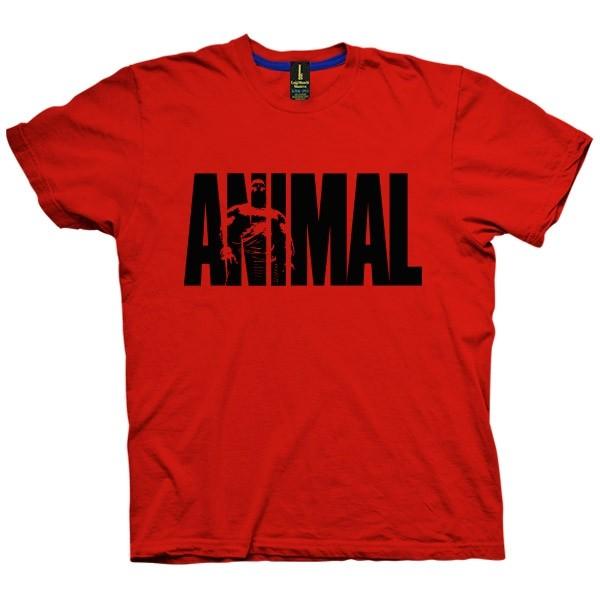 تی شرت Animal چاپ دورو