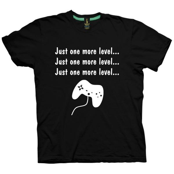 تی شرت Just one more level