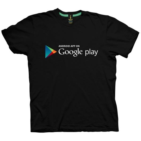 تی شرت Google Play