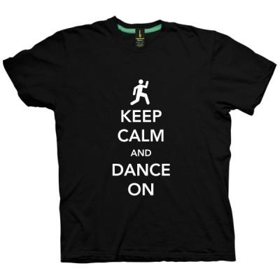 تی شرت Keep Calm طرح Dance On