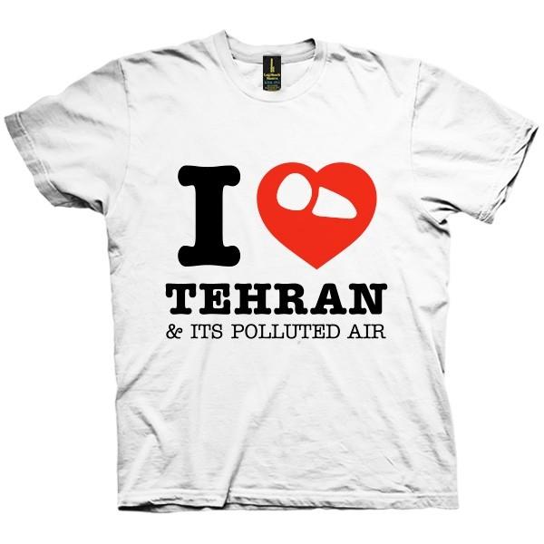 تی شرت I Love Tehran