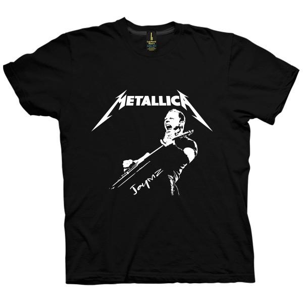 تی شرت متالیکا طرح Jaymz