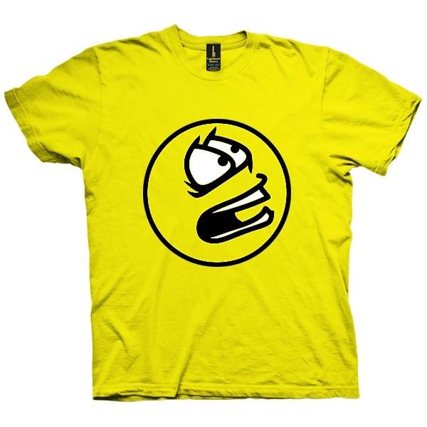 تی شرت Scared Smiley