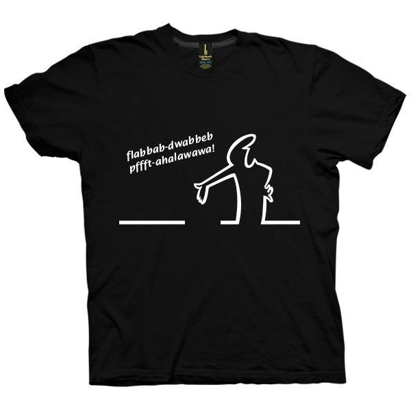 تی شرت La Linea طرح Pffft
