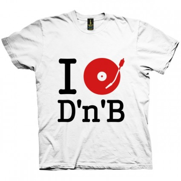 تی شرت I DJ / Listen to Drum and Bass