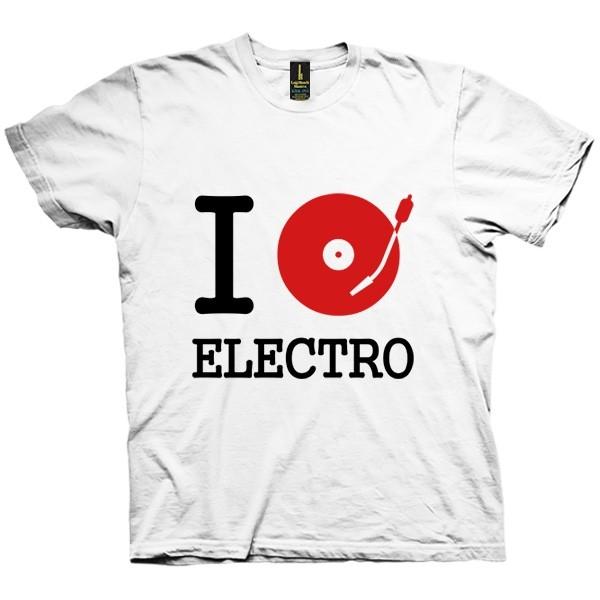 تی شرت I DJ / Listen to Electro