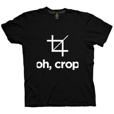 تی شرت Oh, Crop