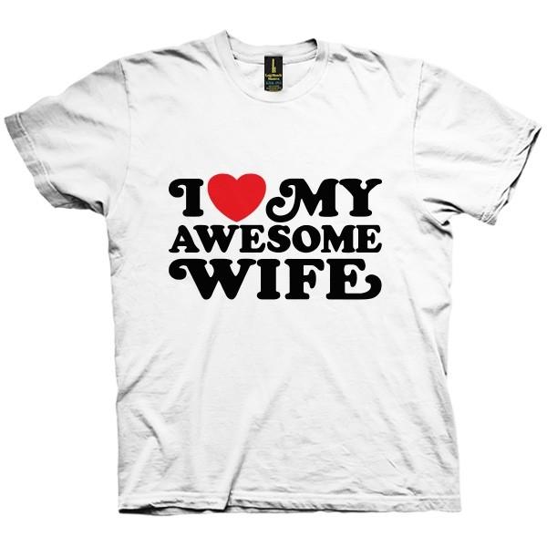 تی شرت Awesome Wife