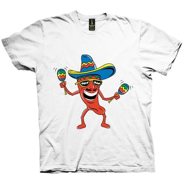 تی شرت Mexican Chili Pepper