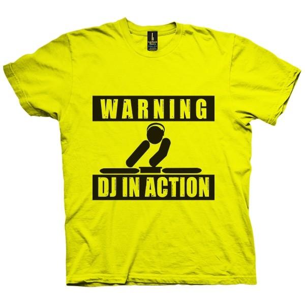 تی شرت Dj In Action