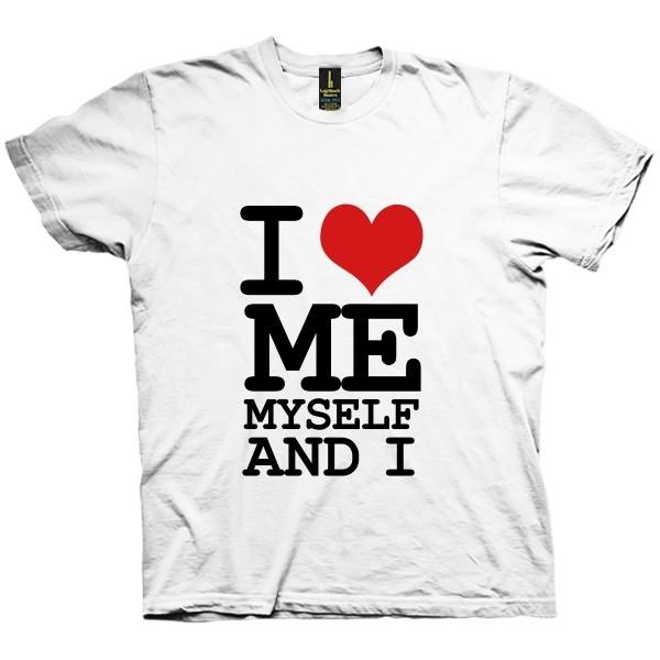 تی شرت I Love Me