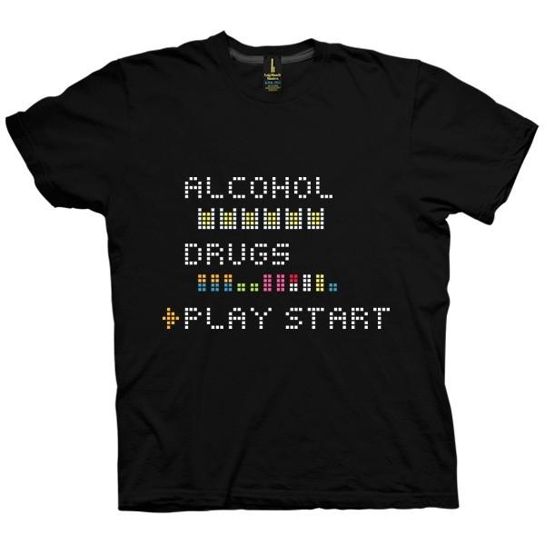 تی شرت Play Start