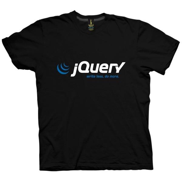 تی شرت jQuery Logo