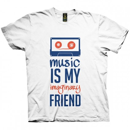 تی شرت Music is my friend
