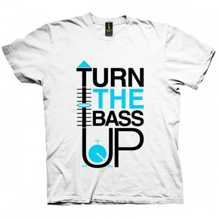 تی شرت Turn The Bass Up + Vol
