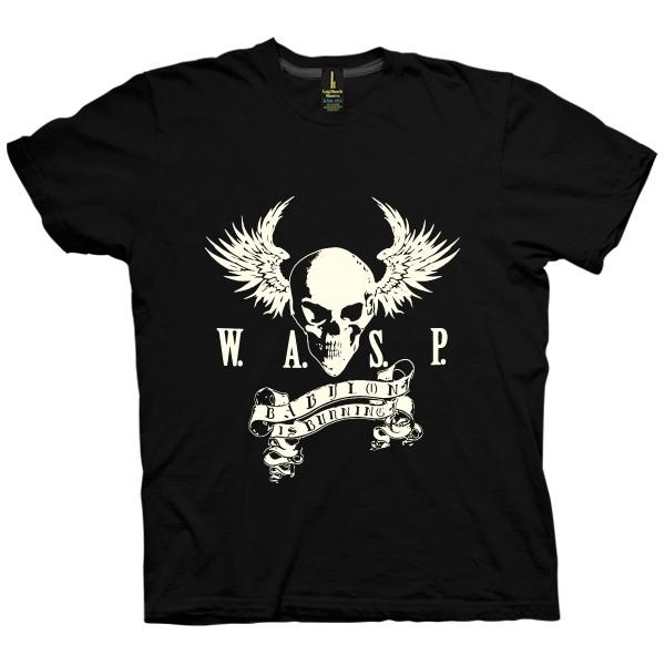 تی شرت W.A.S.P. Band