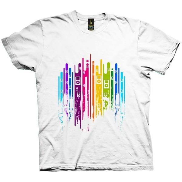 تی شرت Color is Music