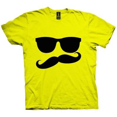 تی شرت Mustache Man