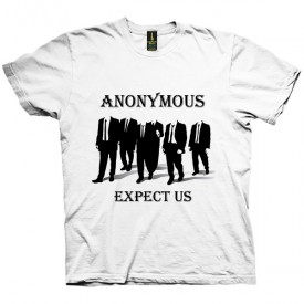 تی شرت Anonymous Expect US
