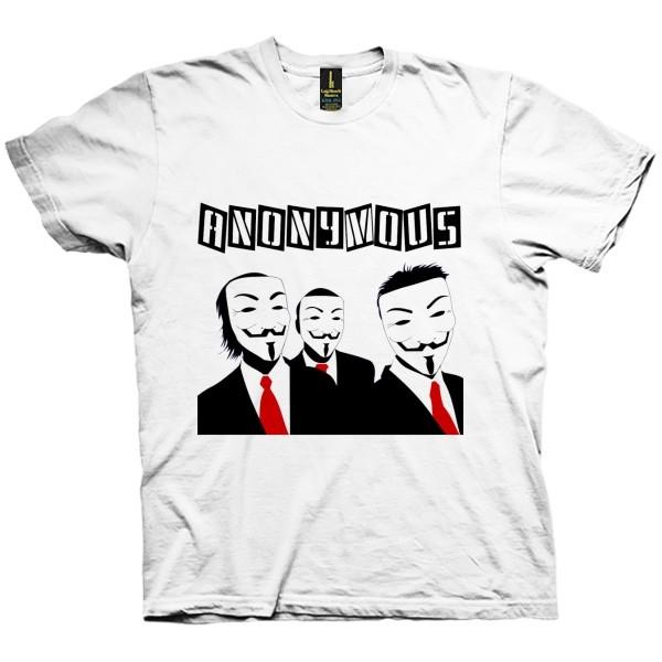تی شرت Anonymous Guys