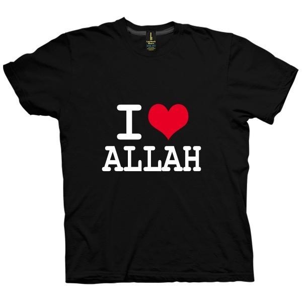 تی شرت I Love Allah