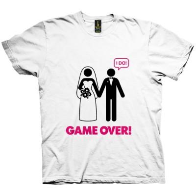 تی شرت Game Over