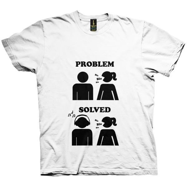 تی شرت Problem Solved