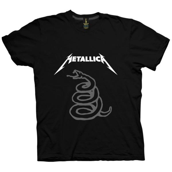 تی شرت متالیکا طرح Snake