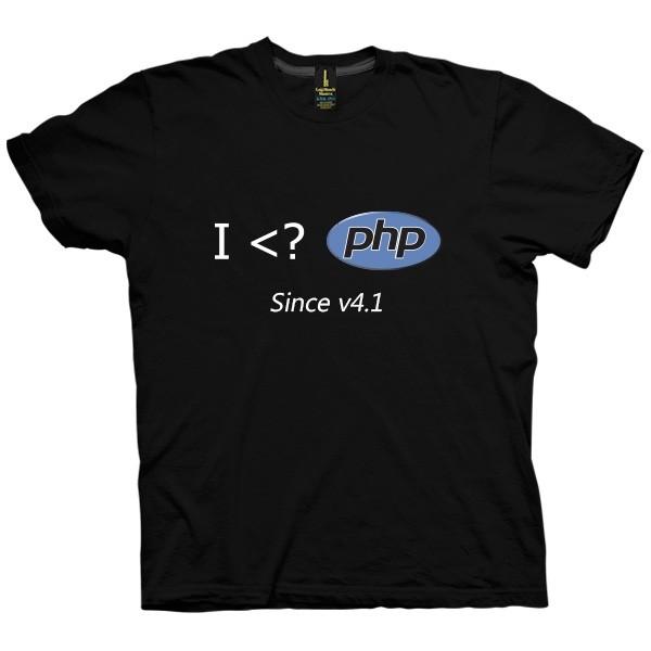 تی شرت I Love PHP