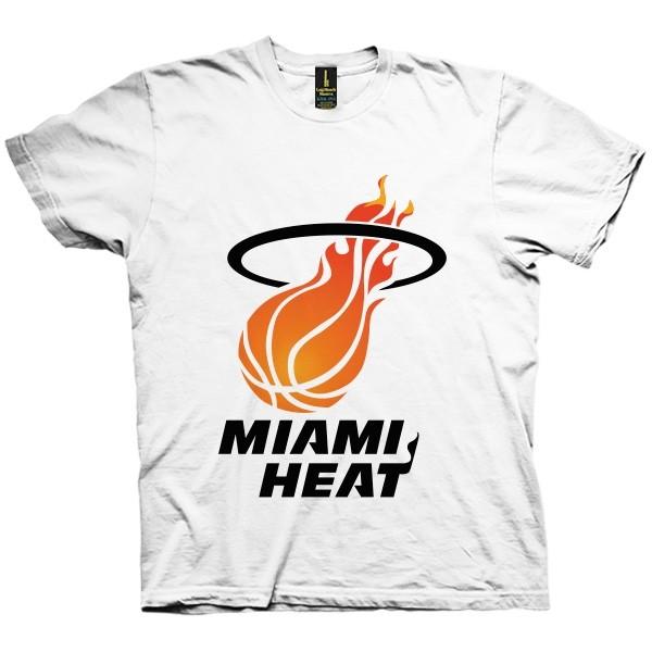 تی شرت Miami Heat Vintage Logo