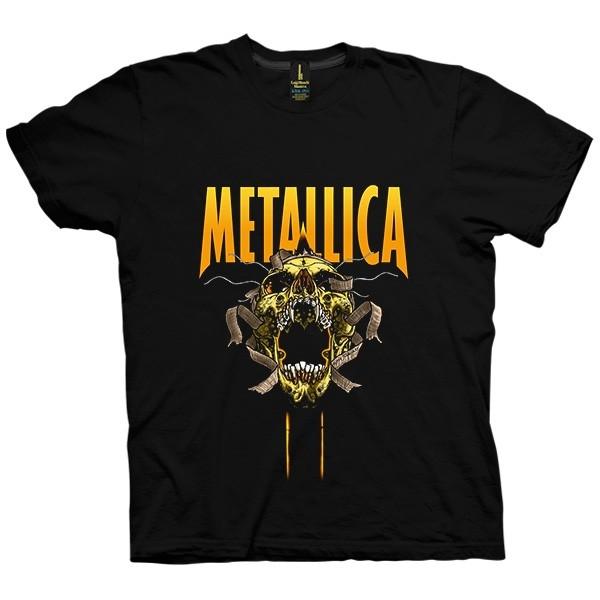 تی شرت متالیکا طرح Skull