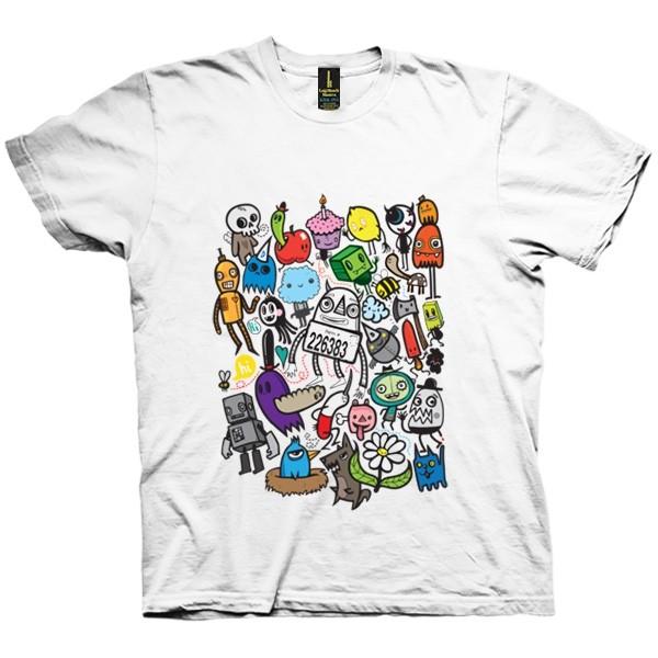 تی شرت ALL MY FRIENDS HAVE COLOR