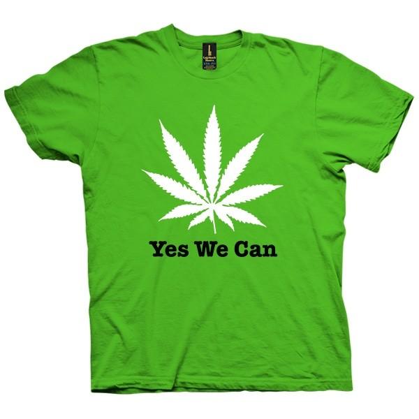 تی شرت Yes We Can