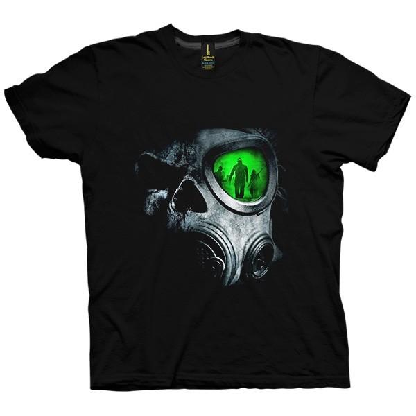 تی شرت Skull Gas Mask