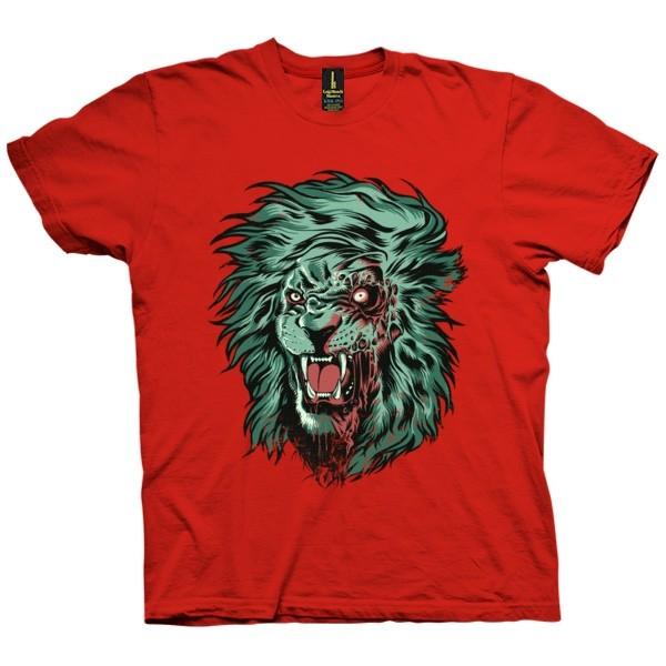 تی شرت Zombie Lion