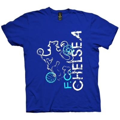 تی شرت Blue Chelsea FC