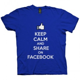 تی شرت Keep Calm And Share