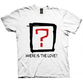 تی شرت Where is the love
