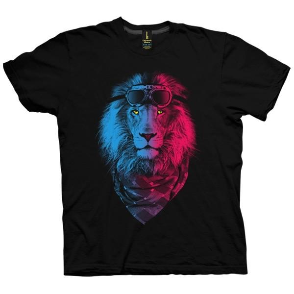 تی شرت Lion Rider